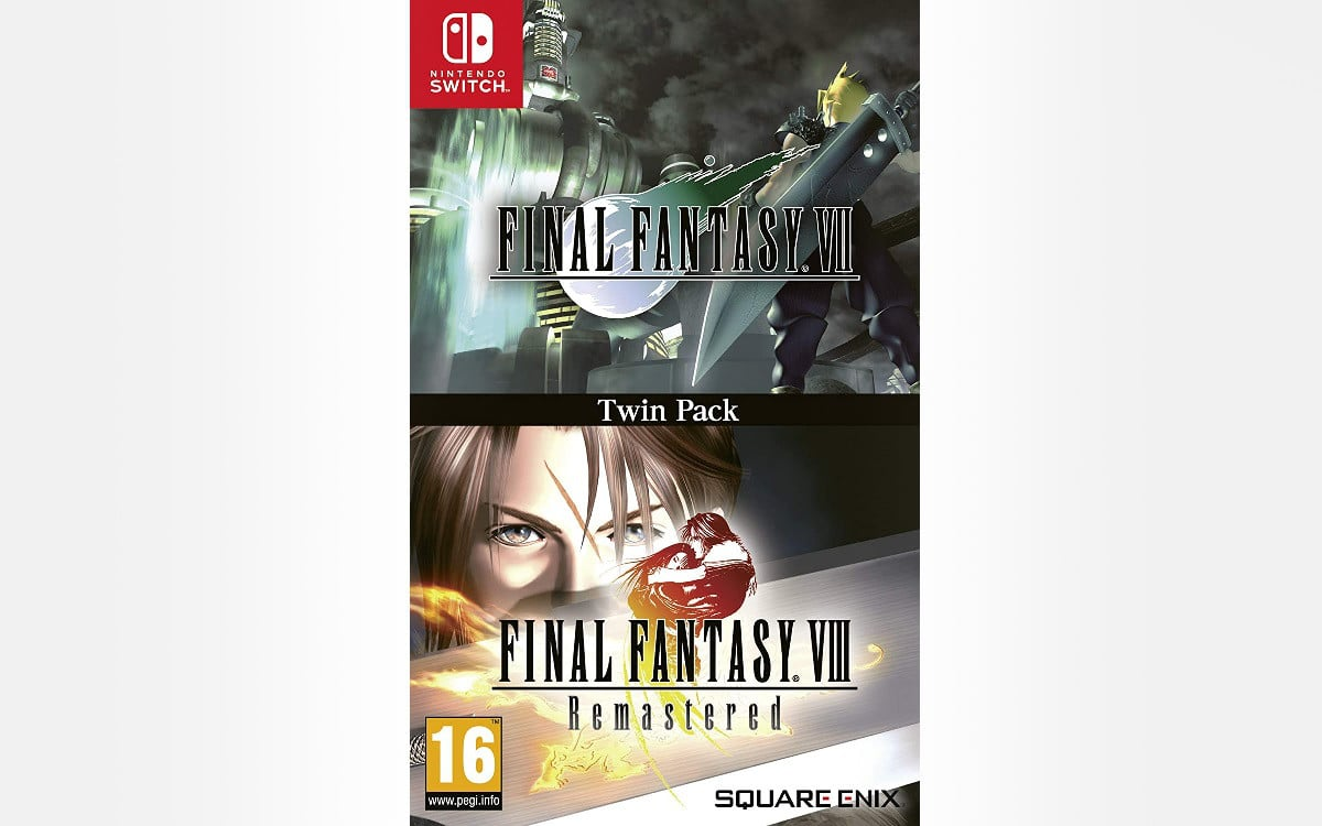Final Fantasy 7 and 8 rearranged switch