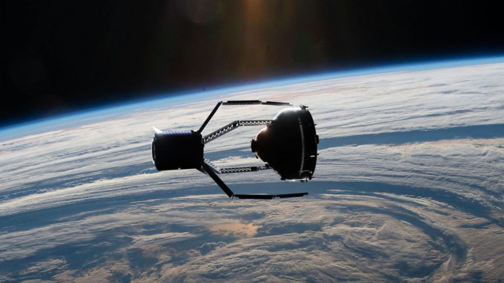 How to clean waste in orbit?