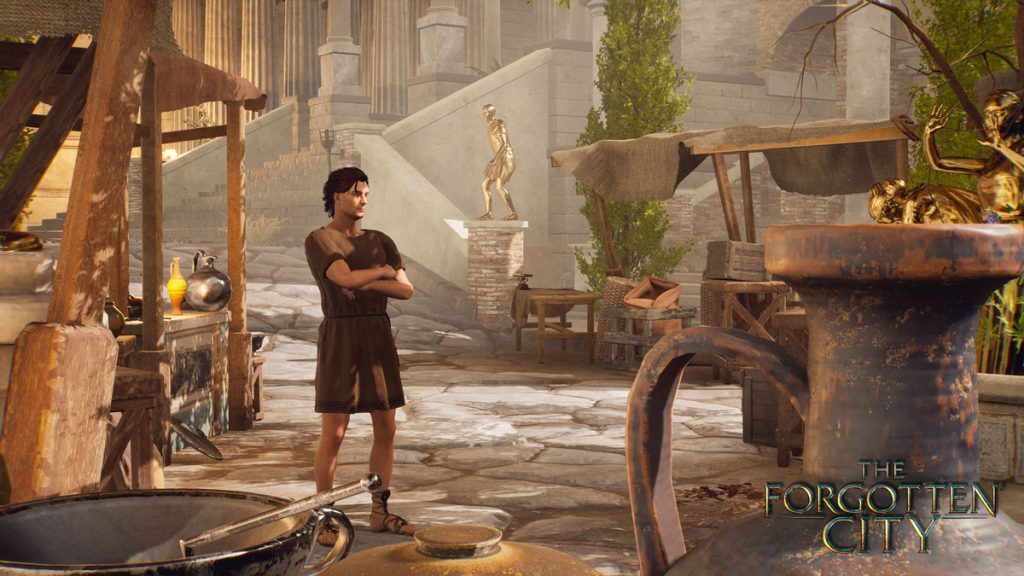 Immerse yourself in ancient Rome with a new game video for the forgotten city