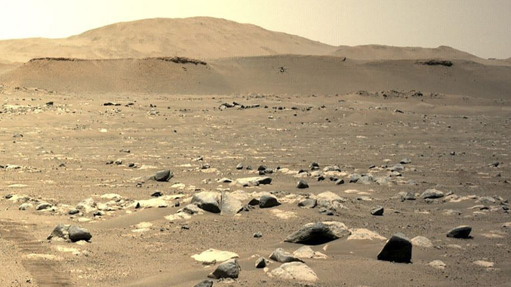 NASA extends ingenious helicopter mission to Mars