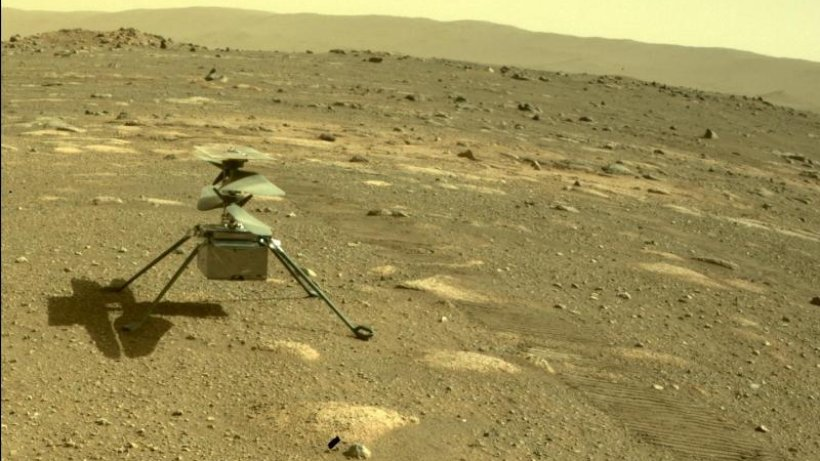 """NASA extends the mission of the Mars helicopter """"Ingenuity"""""""