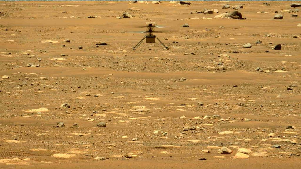 NASA is releasing aircraft sounds from Mars helicopters for the first time
