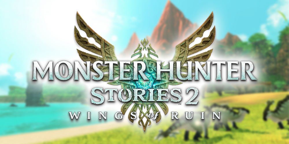 Monster Hunter Stories 2: Wings of Ruin - Logo Light