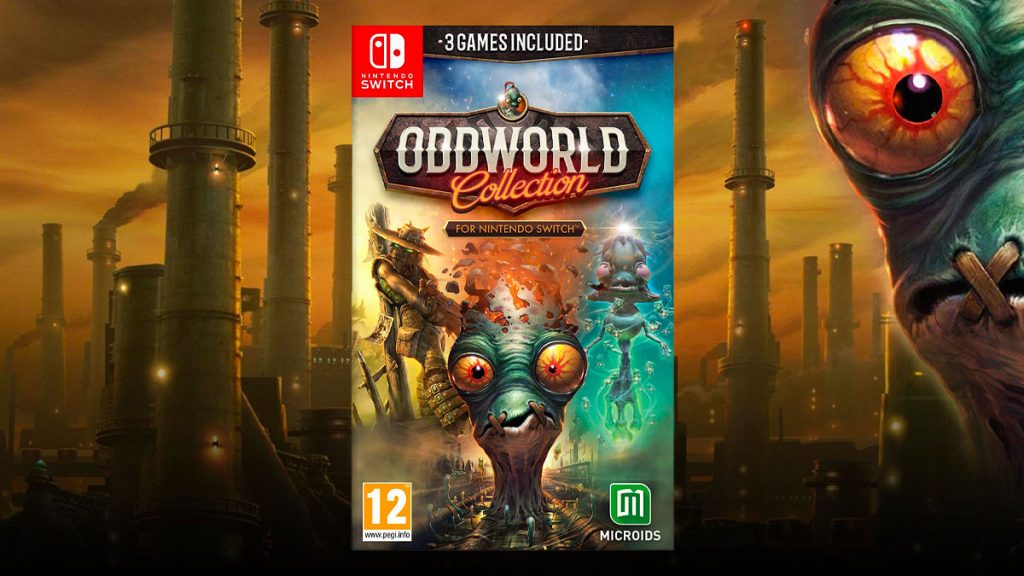 Oddworld: Collection for Nintendo Switch is now available   Planet Network Console