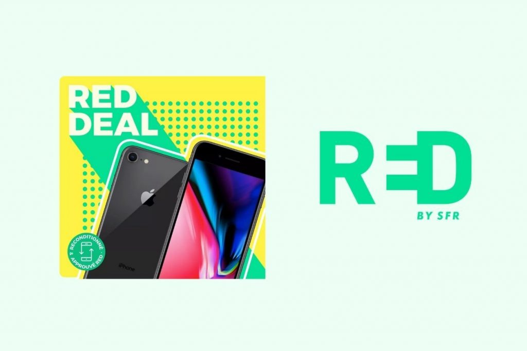RED by SFR gives you the iPhone 8 with a 15 subscription