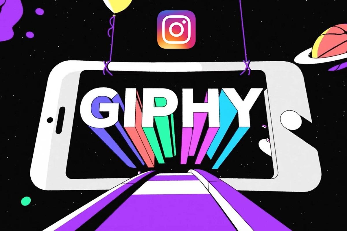 How to use instagram gif