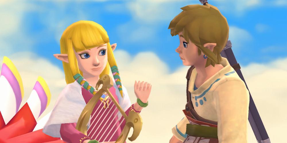 The Legend of Zelda: Skyward Sword HD - Link und Zelda