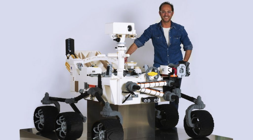 """The U.S. State Department calls Lego's Italian """"genius"""" to build a rover on Mars"""