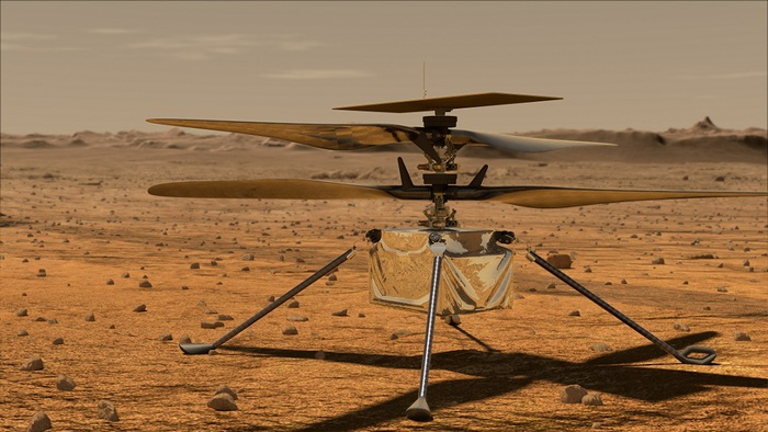 The first intelligent audio from Mars - space and astronomy