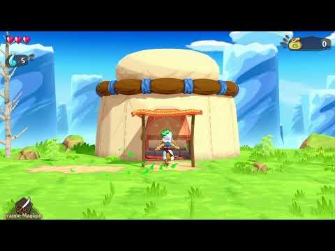 Let's play: Monster World Wonder Boy Asha on Nintendo Switch!