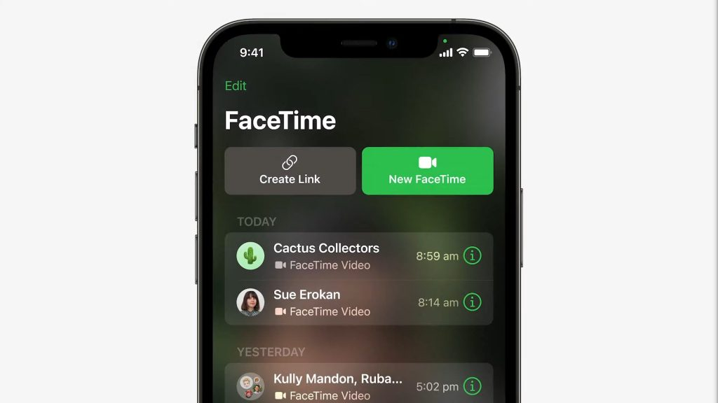 FaceTime comes on Android and Windows: a simple link!