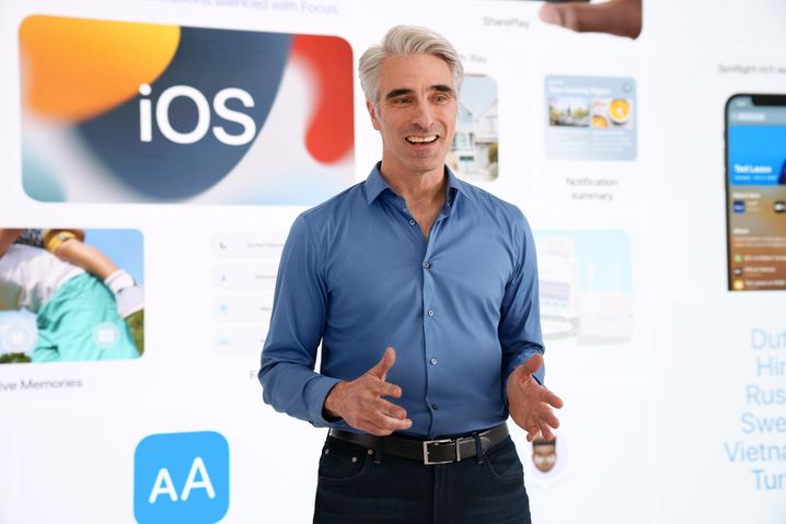 Software leader Craig Federky took over most of the presentation