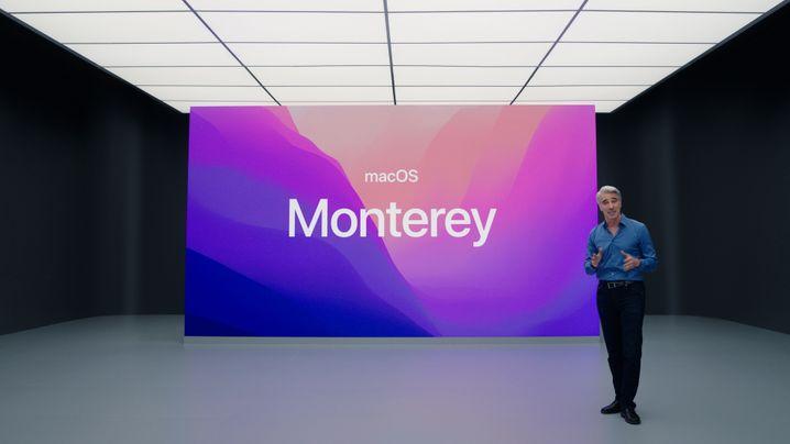 Screenshot of Apple Video Presentation: Manager Federichi Reveals New Magos' Name