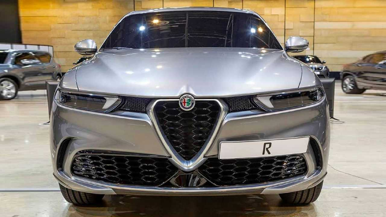 Alfa Romeo Donale, first photos on the web