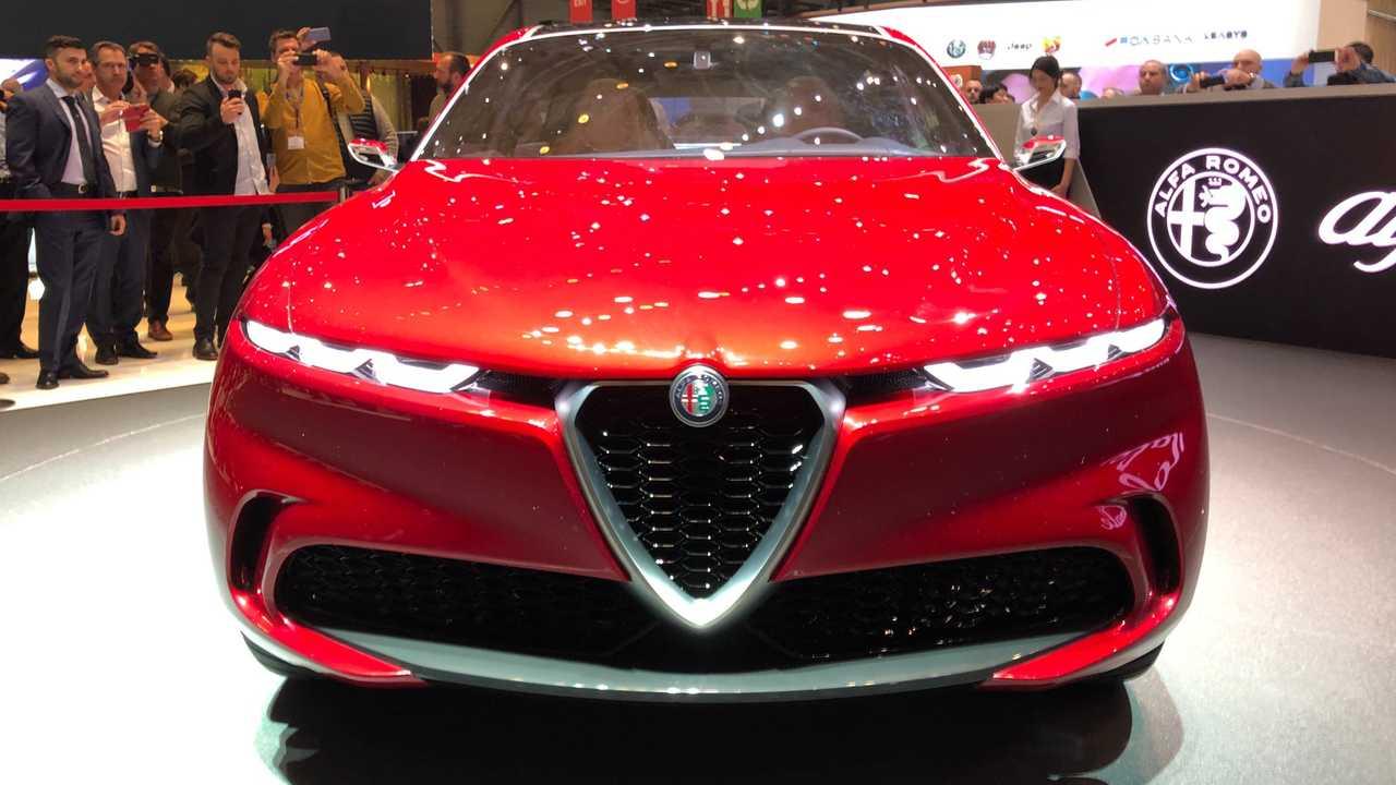 Alfa Romeo Donale, live photos