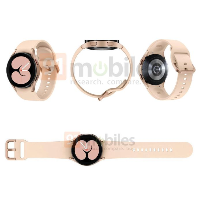 Samsung Galaxy Watch 4 Leaked Gold