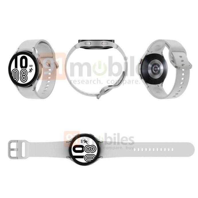 Samsung Galaxy Watch 4 Leak Silver