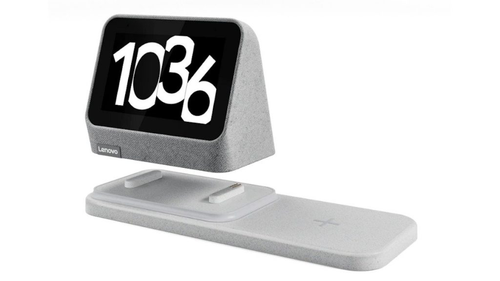 Lenovo unveils new smartwatch 2 smart alarm clock with wireless charger