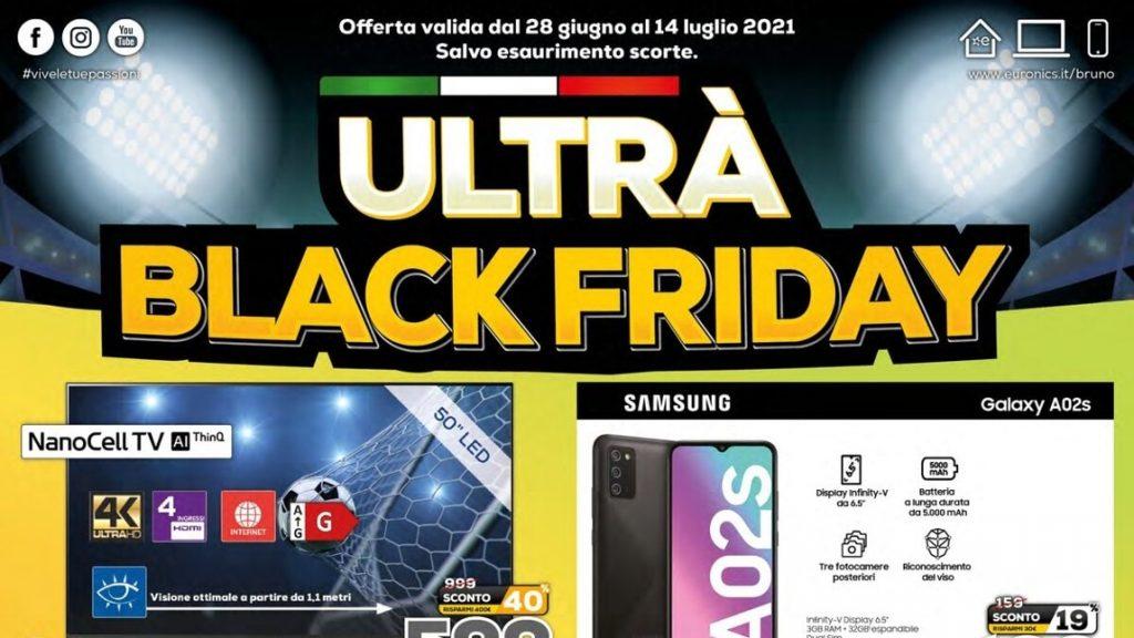 "Euronix Flyer ""Ultra Black Friday"" and ""+ Get-Spent"" until July 14"