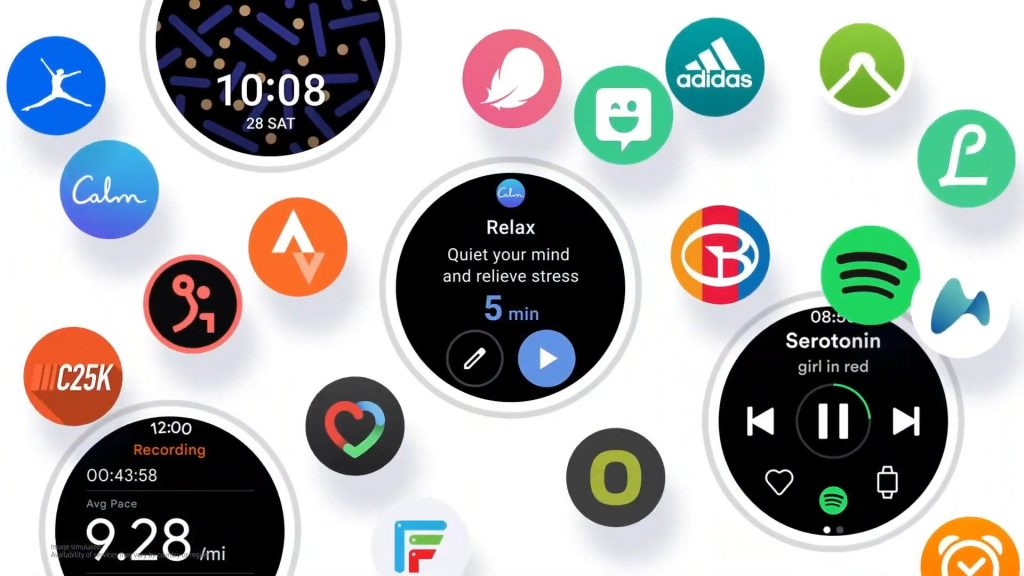 Wear the OS on the Galaxy Watch (Active) 4, it is confirmed