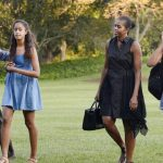 Barack Obama is concerned about the safety of his daughters, who are heavily involved in the PLM movement