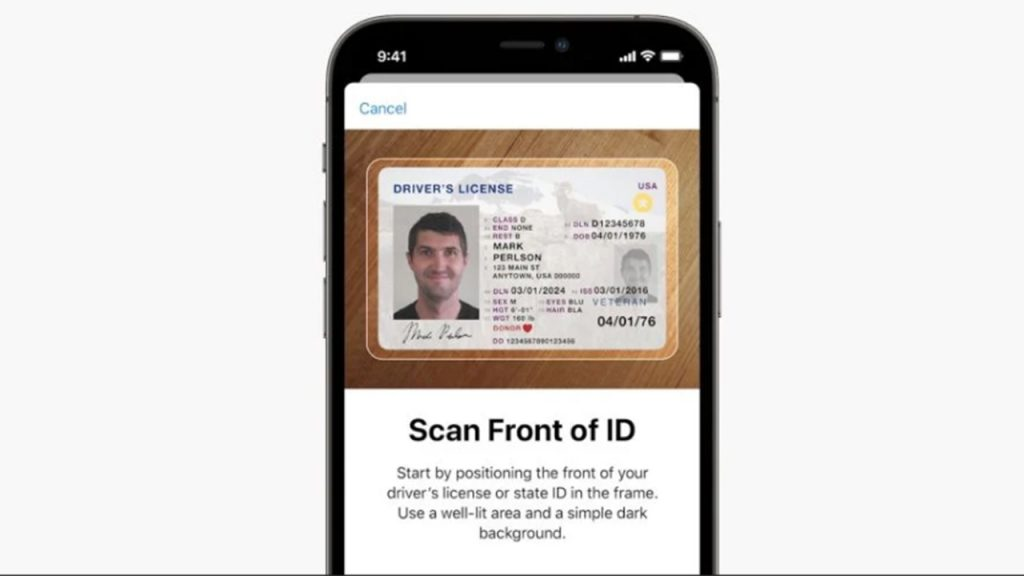 Change ID and Driving License iPhone: Here's how and when this happens