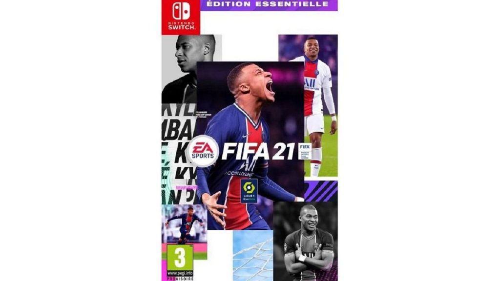 Cityscount: -60% off FIFA 21 game on Nintendo Switch