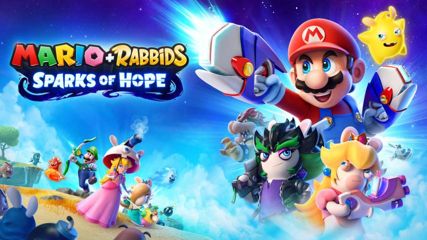 Mario and the Raving Rabbits claim a series of Sparks of Hope - Teller