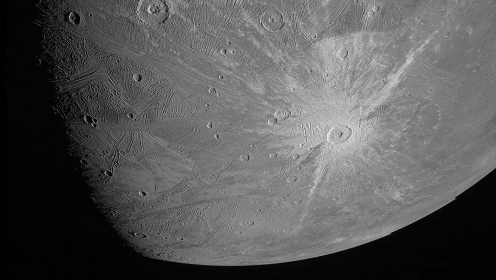 NASA Exploration Juno: First Images of Jupiter's Moon Canyon