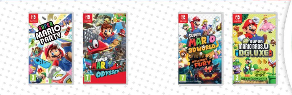 Nintendo Offers from Gamelife: Super Mario, Super Fun!
