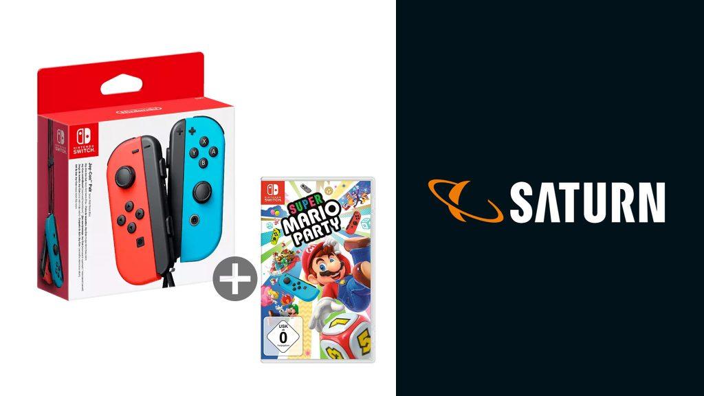 Nintendo-Switch-Controller im Kombi-Angebot bei Saturn reduziert