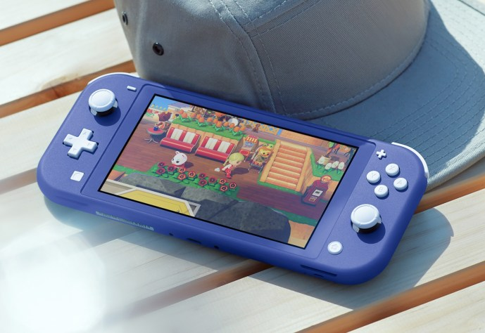 Nintendo Switch Light Blue title