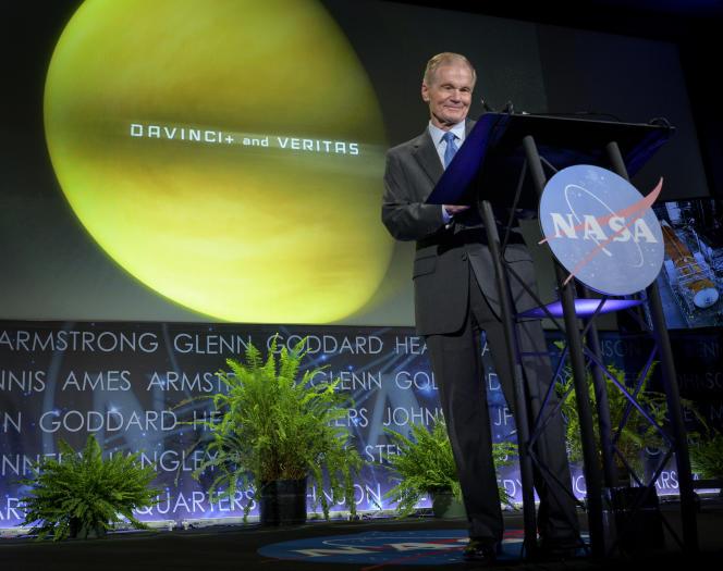 NASA Administrator Bill Nelson, in Washington, June 2, 2021.