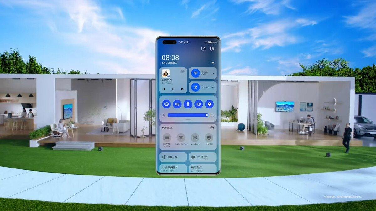 HarmonyOS on the smartphone