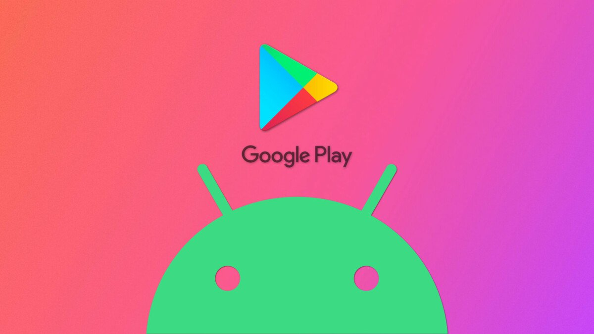 Play Store and Android logos