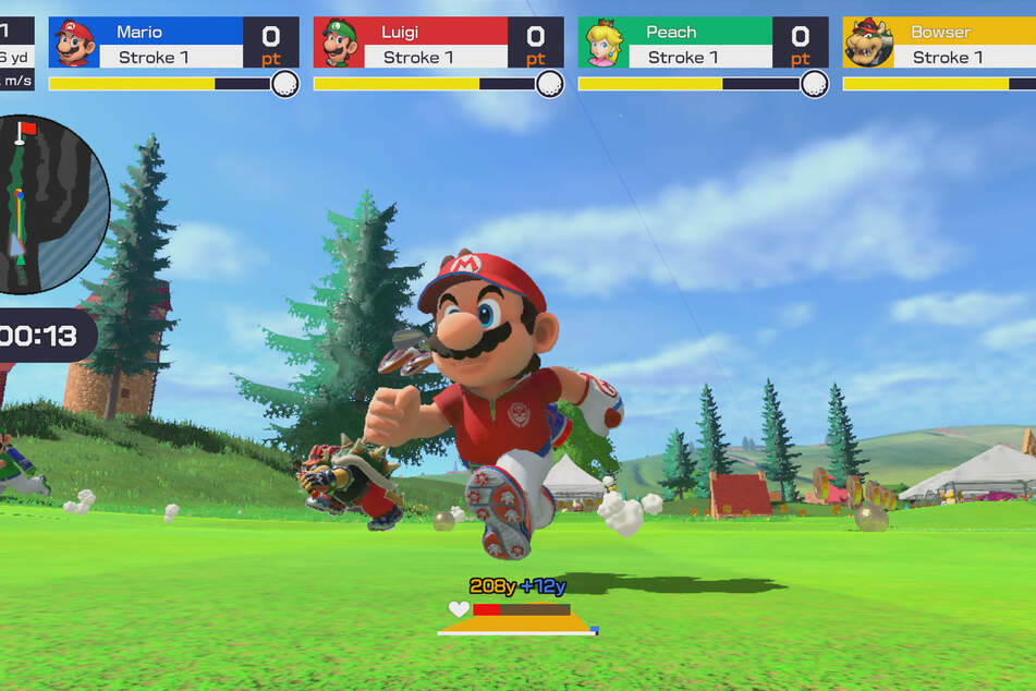 """In """"Speed golf"""" It quickly becomes exciting with friends. The use of special techniques also has a tactical component."""
