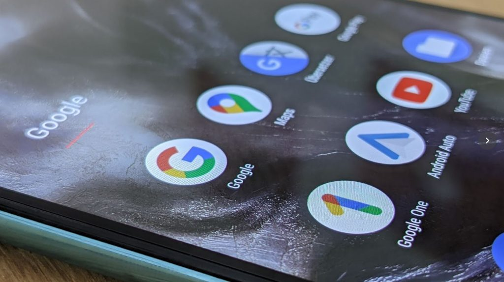 The Google app is now being recreated in detail