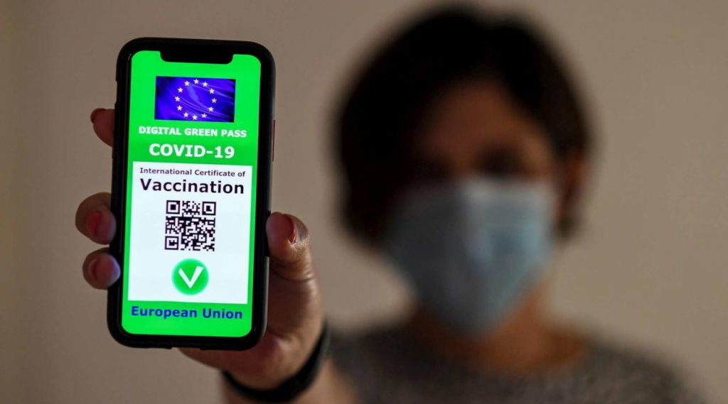 Vaccines and pseudo-green passes capture GDF telegram channels