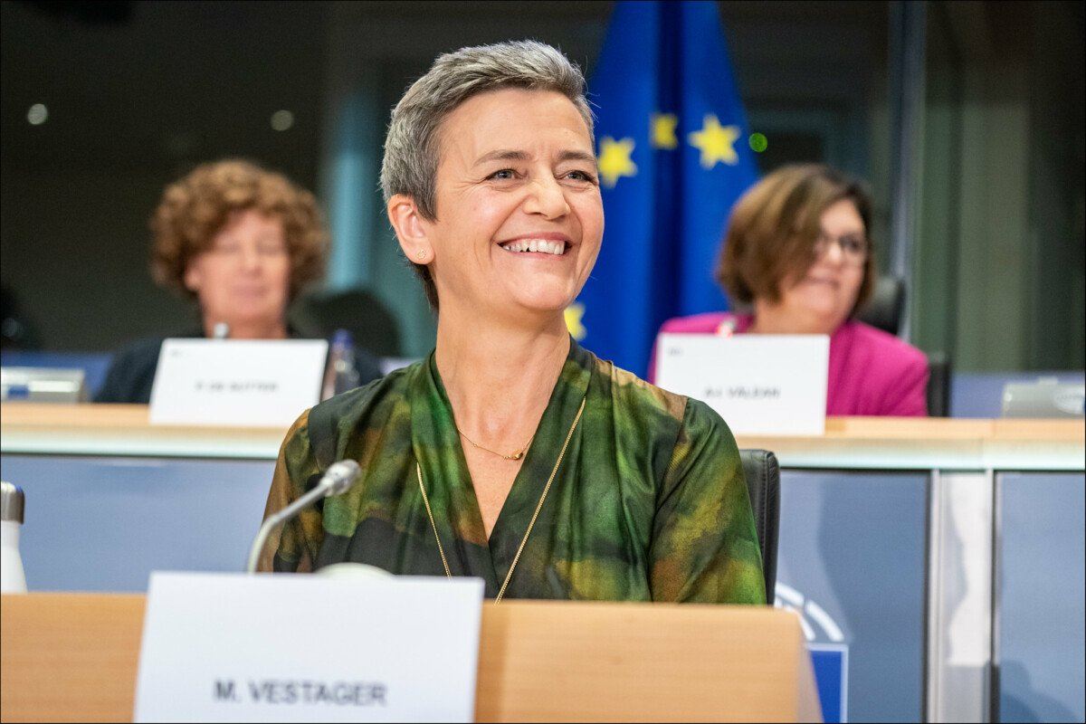 Margaret Vestager has been appointed Vice President of Europe for the Digital Age. Source: CC BY 2.0 / Flickr European Parliament