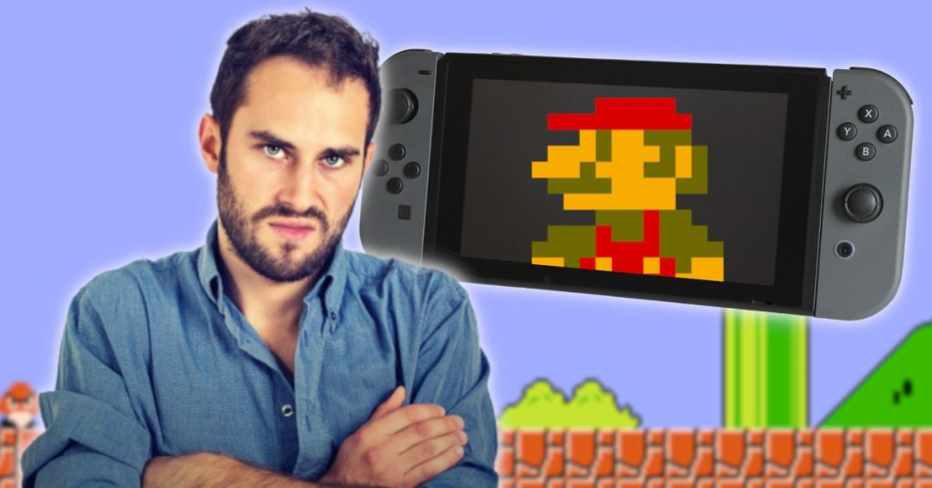 The switch is terrible for retro games