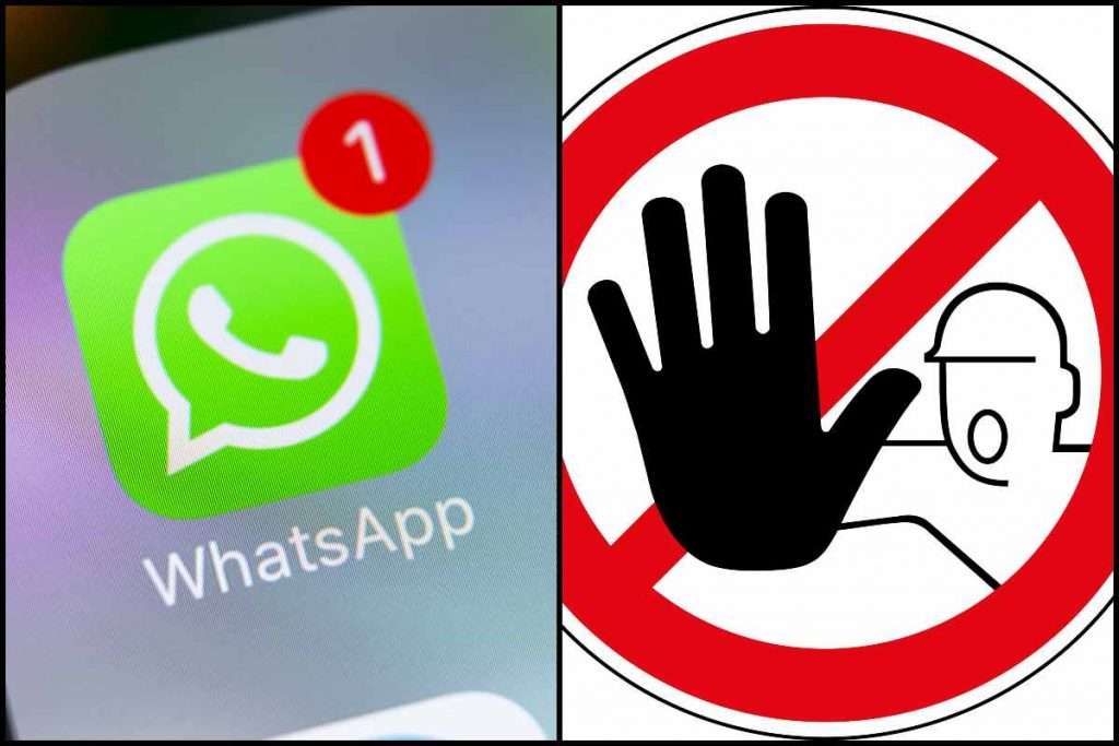 Ban on users of alternative applications such as WhatsApp, GB WhatsApp