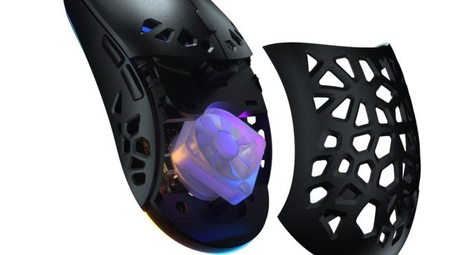 Sweaty hands result: The mouse pierced with the RGB fan is even cooler