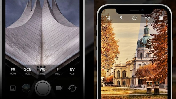 ProCamX: Transforms your smartphone into a stylish professional camera.