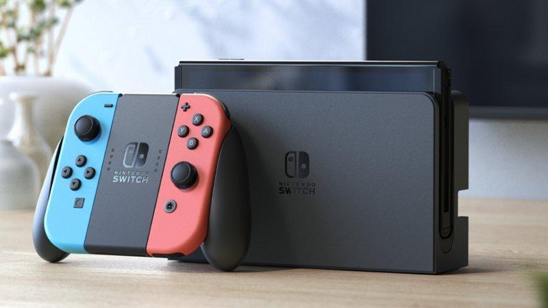 Nintendo Switch OLED Neon / Blue Neon