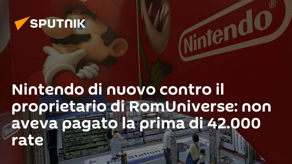 Nintendo again against the owner of the Rome Universe