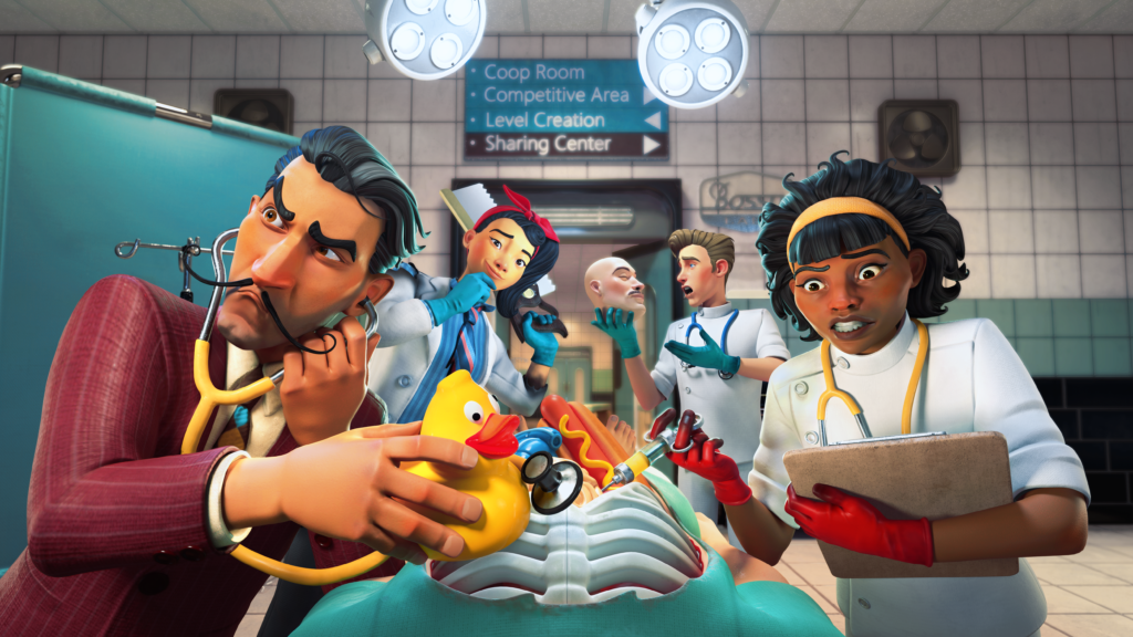 Surgeon Simulator 2: All areas of access are coming to Steam and Xbox this September