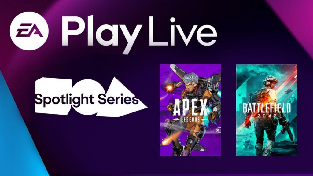 Battlefield 2042 and Apex Legends: E.A. Check out the conference here now!   Xbox One