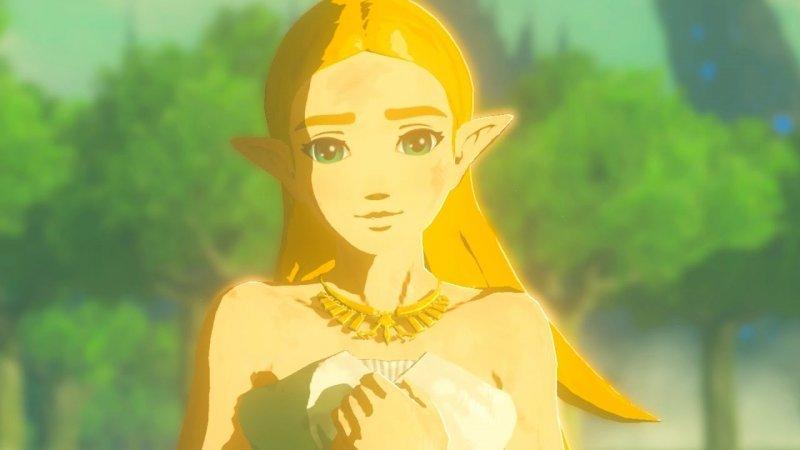 La Zelda de Breath of the Wild