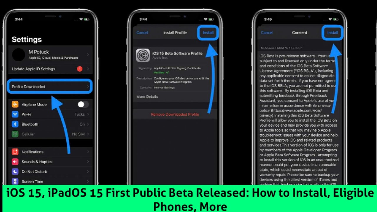 iOS 15, the first public beta of the iPadOS 15: How to install, Compatible Phones and more