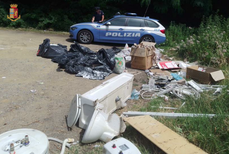 Dump waste from renovation of company premises into forest: Traffic Police Condemns Entrepreneur Photo
